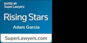 Adam Garcia Superlawyers Badge